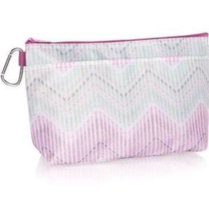 Thirty-One Cool Clip Thermal Pouch -Chevron Stitch